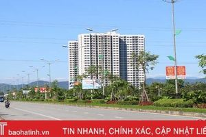 Thành phố Hà Tĩnh tăng tốc 'chặng nước rút'!
