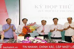 Thành phố Hà Tĩnh có Phó Chủ tịch HĐND mới