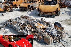 Bị thiêu rụi chỉ còn đống tro, Ferrari 458 vẫn được rao bán như thường