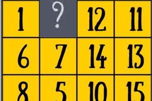 Rèn tư duy với câu đố tìm quy luật bài toán