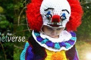 Mẹ kỳ công đan trang phục Halloween cho các con