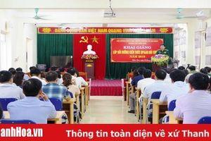 TP Sầm Sơn khai giảng lớp bồi dưỡng kiến thức QP-AN đối tượng 3