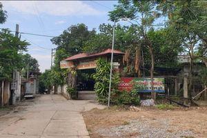 Thanh Sơn – Phú Thọ: Lấn chiếm hành lang thoát lũ xây nhà trái phép