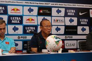 Thầy Park tiết lộ mối lo lớn nhất của đội tuyển Việt Nam khi đấu Indonesia