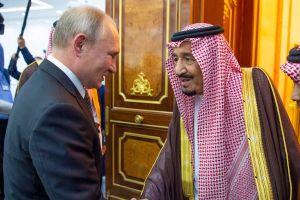 Tổng thống Nga Vladimir Putin hội đàm với Quốc vương Saudi Arabia