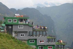 Tạm dừng hoạt động nhà hàng Panorama trên đỉnh Mã Pì Lèng