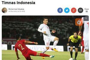 Báo Indonesia xấu hổ khi thua Việt Nam, nói HLV McMenemy là kẻ phá hoại