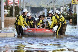 Nhật Bản tăng cường cứu hộ sau siêu bão Hagibis