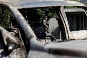 14 cảnh sát Mexico bị bắn tử vong, nghi do băng đảng khét tiếng phục kích bất ngờ
