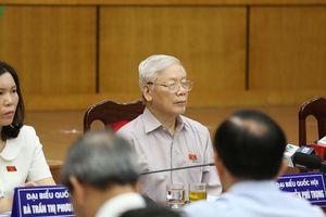 Cử tri ủng hộ Tổng Bí thư, Chủ tịch nước quyết tâm chống tham nhũng