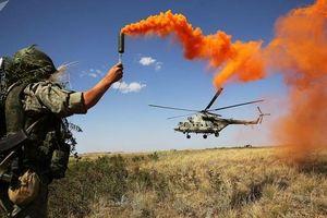 Quân đội Nga tập trận với lượng khí tài rất lớn