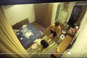 Phẫn nộ Clip 'chồng hờ' đánh vợ dã man ở Hải Phòng