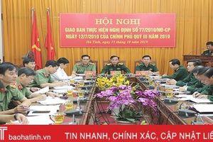 Triển khai tốt phương án, kế hoạch bảo đảm an ninh chính trị, TTATXH