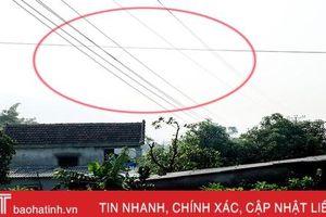 Cấp đất dưới đường dây điện, nhiều hộ dân sống trong sợ hãi!