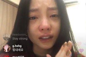 Goo Hara bật khóc nức nở trên livestream, liên tục nói xin lỗi Sulli sau cái chết của bạn thân