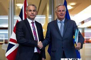 Anh-EU nỗ lực đạt dự thảo thỏa thuận trước hội nghị thượng đỉnh EU