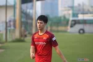 Trần Đình Trọng nói gì khi U22 Việt Nam nằm chung bảng với U22 Thái Lan tại SEA Games 30