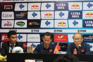 Khi được hỏi liệu ông có muốn dẫn dắt Indonesia thay cho McMenemy, đây là câu trả lời của Park Hang-seo