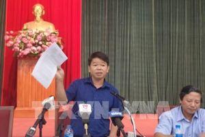 Hà Nội khuyến cáo người dân không sử dụng nước từ nguồn nước sạch sông Đà để nấu ăn, uống