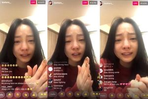 Goo Hara livestream khóc cạn nước mắt vì Sulli: 'Chị xin lỗi!'
