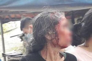 Phú Thọ: Người mẹ bị con rể cũ chém trọng thương