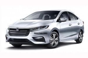 Honda City 2020 sắp ra mắt, quyết đấu với Toyota Vios