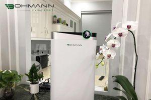 Ra mắt máy lọc không khí Bohmann tiêu chuẩn châu Âu