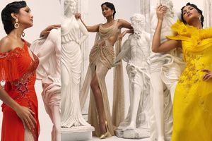 H'Hen Niê hóa 'Nữ thần Hy Lạp' trong trang phục của NTK Linh San