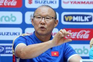 HLV Park Hang-seo: 'Việt Nam hoàn toàn có thể đánh bại Thái Lan, UAE'