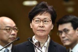 Lãnh đạo Hong Kong khẳng định không nhượng bộ người biểu tình