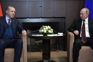Nga: Ông Erdogan nhận lời ông Putin sang thăm Nga vài ngày tới