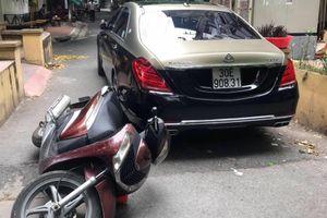Tài xế Maybach S650 đánh người, tự xưng là lái xe Bộ trưởng Công an