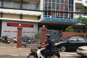 Giáng chức Cục trưởng Cục Thuế tỉnh Bình Định