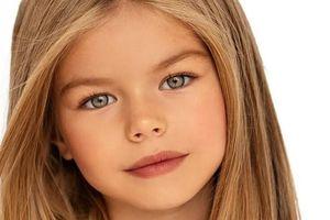 Diện mạo như thiên thần của mẫu nhí 6 tuổi đẹp nhất thế giới