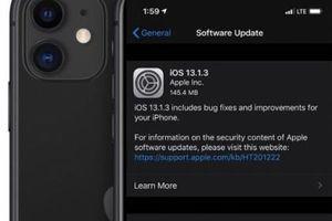 Apple tung bản cập nhật iOS 13.1.3 sửa nhiều lỗi quan trọng