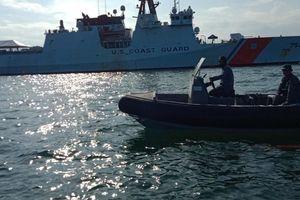 Tàu tuần duyên Mỹ cùng Philippines và Nhật Bản diễn tập gần quần đảo Trường Sa