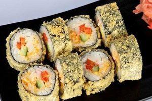 Đổi món cho cả nhà với sushi chiên xù giòn ngon