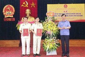 Bổ nhiệm Viện trưởng, Phó Viện trưởng VKSND tỉnh Cao Bằng