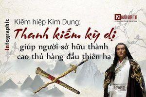 Kiếm hiệp Kim Dung: Thanh kiếm kỳ dị giúp người sở hữu thành cao thủ hàng đầu thiên hạ
