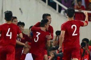 Đội tuyển Việt Nam tăng bậc trên bảng xếp hạng FIFA sau chiến thắng Indonesia