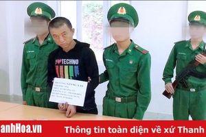 Bộ đội Biên phòng Thanh Hóa bắt đối tượng vận chuyển trái phép ma túy