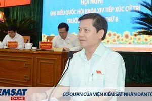 Viện trưởng VKSNDTC Lê Minh Trí tiếp xúc cử tri quận 10 và quận 11 TP Hồ Chí Minh