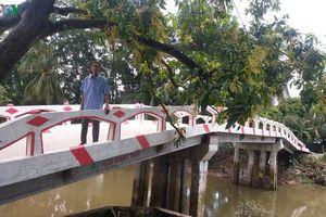 Một nông dân ở Tiền Giang hiến tặng 400 triệu đồng để xây cầu bê tông