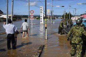 Số người chết vì bão Hagibis ở Nhật Bản tăng lên 75