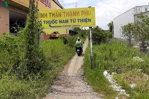 'Số phận' đường vào Đình Thạnh Phú, Cà Mau: Cần hài hòa lợi ích