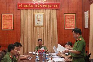 Giám đốc Công an thành phố Hà Nội tiếp công dân định kỳ