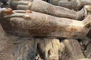 Bí hiểm 20 quan tài gỗ cổ đại được khai quật tại Ai Cập