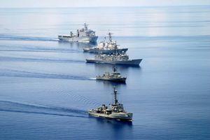 Biển Đông: Nhiều tàu chiến Mỹ tập trận gần quần đảo Trường Sa