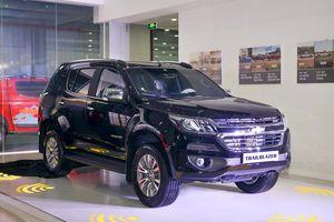 Isuzu MU-X, Chevrolet Trailblazer giảm giá, cao nhất 160 triệu đồng