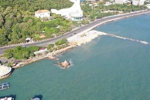 Choáng với dự án độc chiếm 1 phần bãi biển Vũng Tàu nhìn từ trên cao